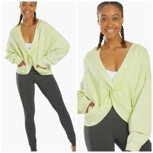Free People Movement Green Pullover M